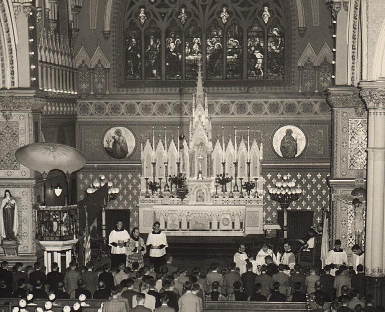 Inside St. Peter's A