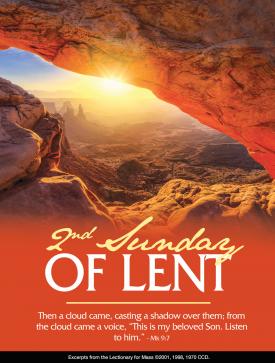2nd Sunday Lent Feb 2021