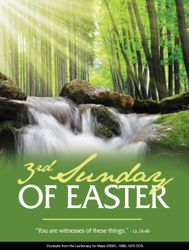 3rd Sunday Easter April 18 2021