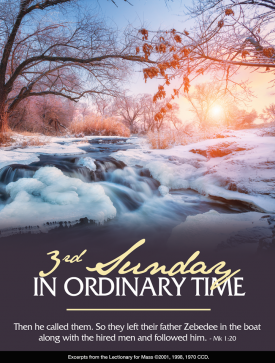 3rdSunday OrdinaryTime Jan 2021