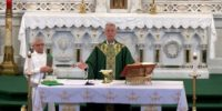 Rome Catholic School Mass Sept 2020
